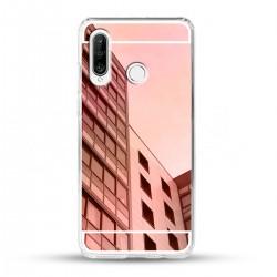 Zrcadlový TPU obal na Huawei P30 Lite - Růžový lesk