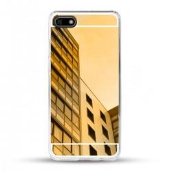 Zrcadlový TPU obal na Huawei Y5 2018 - Zlatý