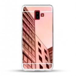 Zrcadlový TPU obal na Samsung Galaxy J6+ - Růžový