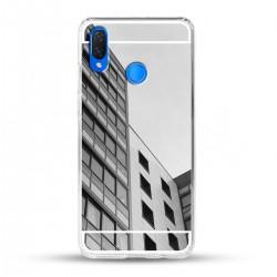 Zrcadlový TPU obal na Huawei Nova 3i - Stříbrný