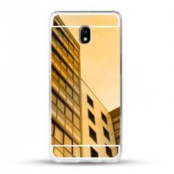 Zrcadlový TPU obal na Samsung Galaxy J5 2017 - Zlatý
