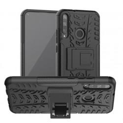 Odolný obal Panzer case na Huawei P40 Lite E - Černá