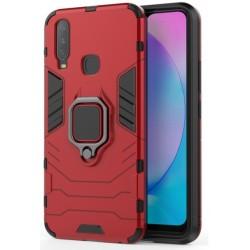 Odolný kryt na Huawei P40 Lite E | Panzer case - Červená
