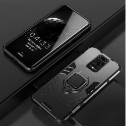 Odolný kryt na Xiaomi Redmi Note 9 Pro | Panzer case - Černá