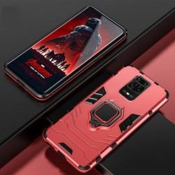 Odolný kryt na Xiaomi Redmi Note 9 Pro | Panzer case - Červená