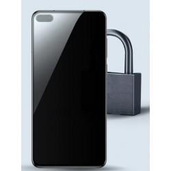 Tvrzené ochranné sklo na Huawei P40 - protišpionážní