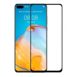 Tvrzené ochranné sklo s černými okraji na mobil Huawei P40