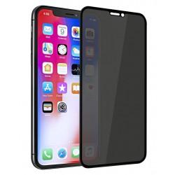 Tvrzené ochranné sklo na iPhone X - protišpionážní