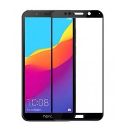 Tvrzené ochranné sklo s černými okraji na mobil Huawei Y5 2018