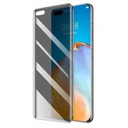 Pevná 3D plastová fólie na mobil Huawei P40 Pro - protišpionážní