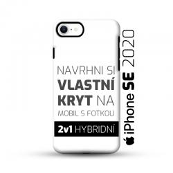 Odolný vlastní obal na iPhone SE 2020 | Hybridní vlastní kryt 2v1