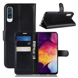 Knížkové pouzdro s poutkem pro Huawei P Smart Pro - Černá