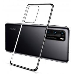 Huawei P40 silikonový obal Průhledný