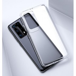 Silikonový průhledný obal na Huawei P40 Pro