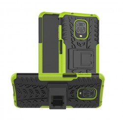 Odolný obal na Xiaomi Redmi Note 9 Pro | Armor case - Zelená