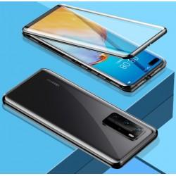 Magnetický kryt s tvrzeným sklem na Huawei P40 Pro