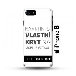 Vlastní kryt na iPhone 8 | Fullcover 360°