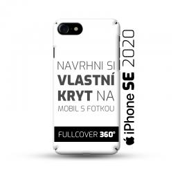 Vlastní kryt na iPhone SE 2020 | Fullcover 360°
