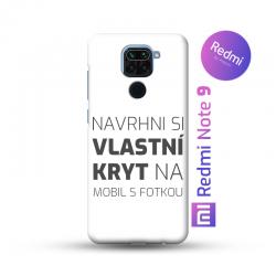 Redmi Note 9 kryt s vlastní fotkou