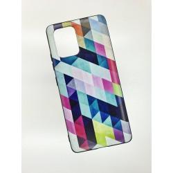 Silikonový obal na Samsung Galaxy A41 s potiskem - Colormix