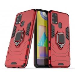 Odolný kryt na Samsung Galaxy M21 | Panzer case - Červená