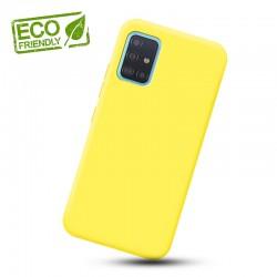 Liquid silikonový obal na Samsung Galaxy A31 | Eco-Friendly - Žlutá