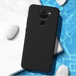 Liquid silikonový obal na Xiaomi Redmi Note 9   Eco-Friendly - Černá