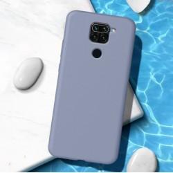Liquid silikonový obal na Xiaomi Redmi Note 9   Eco-Friendly - Modrá