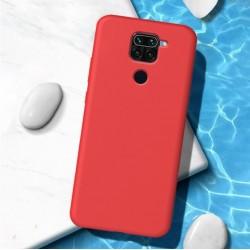 Liquid silikonový obal na Xiaomi Redmi Note 9   Eco-Friendly - Červená