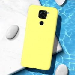 Liquid silikonový obal na Xiaomi Redmi Note 9   Eco-Friendly - Žlutá