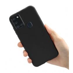 Liquid silikonový obal na Samsung Galaxy A21s | Eco-Friendly - Černá
