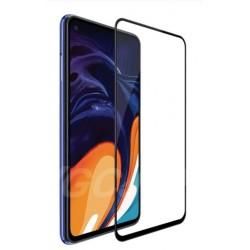 Tvrzené ochranné sklo s černými okraji na mobil Samsung Galaxy A21s