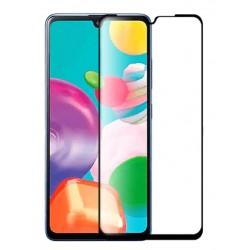 Tvrzené ochranné sklo s černými okraji na mobil Samsung Galaxy A31