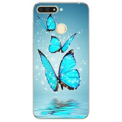 Silikonový obal s potiskem na Honor 8 Pro - Motýli