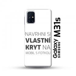 Samsung Galaxy M31s kryt s vlastní fotkou