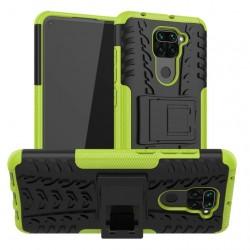 Odolný obal na Xiaomi Redmi Note 9 | Armor case - Zelená