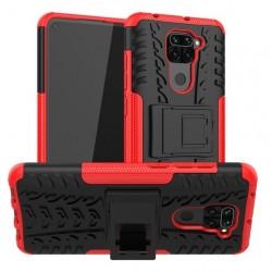 Odolný obal na Xiaomi Redmi Note 9 | Armor case - Červená