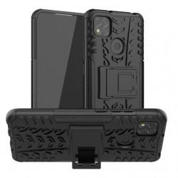 Odolný obal na Xiaomi Redmi 9C | Armor case - Černá