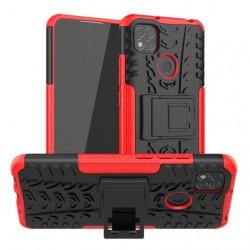 Odolný obal na Xiaomi Redmi 9C | Armor case - Červená