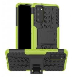 Odolný obal na Samsung Galaxy A41 | Armor case - Zelená