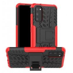 Odolný obal na Samsung Galaxy A41 | Armor case - Červená