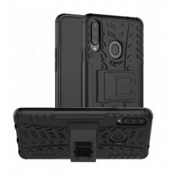 Odolný obal na Samsung Galaxy A20s | Armor case - Černá