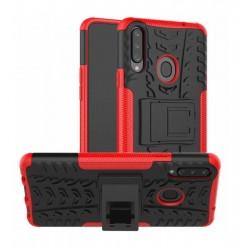 Odolný obal na Samsung Galaxy A20s | Armor case - Červená