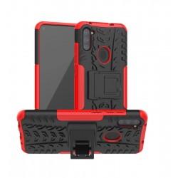 Odolný obal na Samsung Galaxy M11 | Armor case - Červená