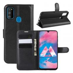 Knížkové pouzdro s poutkem pro Samsung Galaxy M11 - Černá