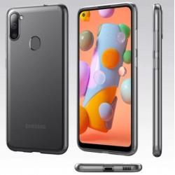 Silikonový průhledný obal na Samsung Galaxy M11