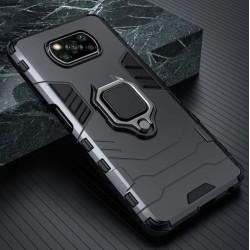 Odolný kryt na Xiaomi POCO X3 | Panzer case - Černá