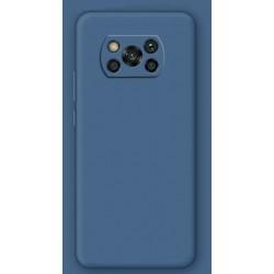 Liquid silikonový obal na Xiaomi POCO X3 | Eco-Friendly - Modrá