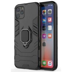 Odolný kryt na iPhone 12 Pro | Panzer case - Černá