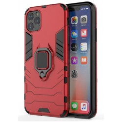 Odolný kryt na iPhone 12 Pro | Panzer case - Červená